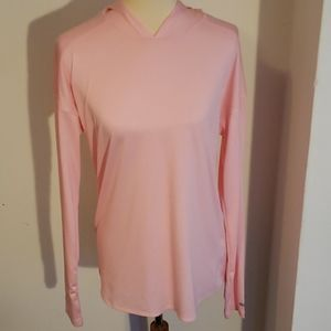 Pink Columbia hooded shirt
